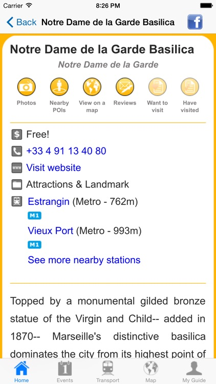 Marseille Travel Guide Offline screenshot-4