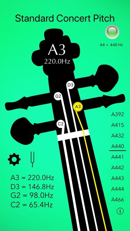 Cello Tuner Basic