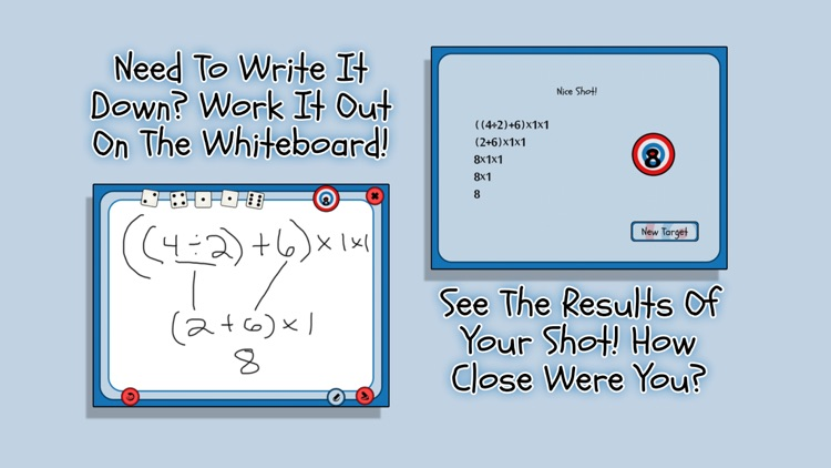 5 Dice Math Game screenshot-3