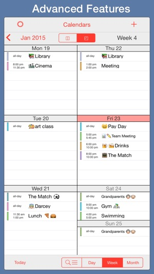 color coded calendar template