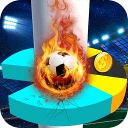 Soccer Star Helix Jump