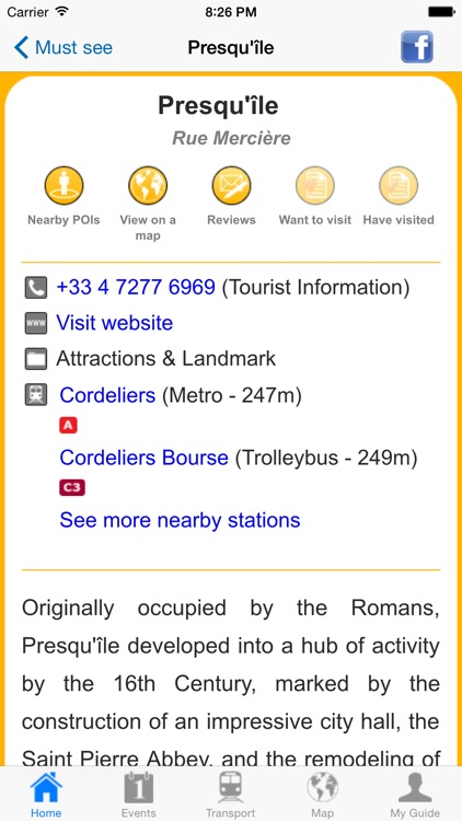 Lyon Travel Guide Offline screenshot-4