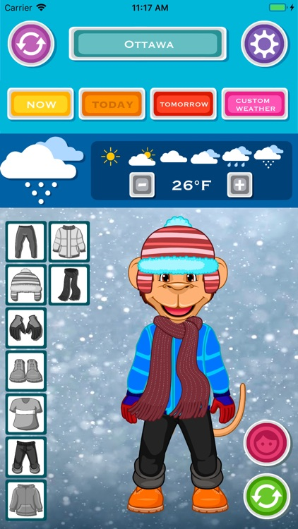 Kids Weather & What to Wear screenshot-3