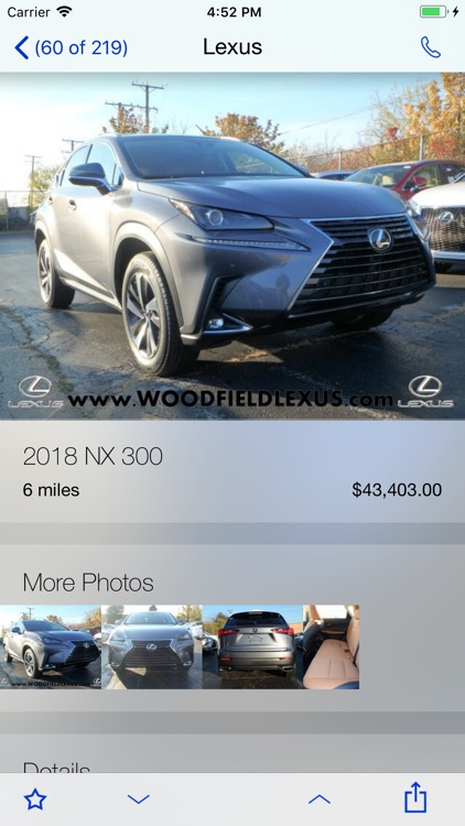Woodfield Lexus DealerApp screenshot-2