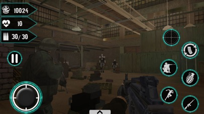 Zombie War 3D - Zombies Arena screenshot three