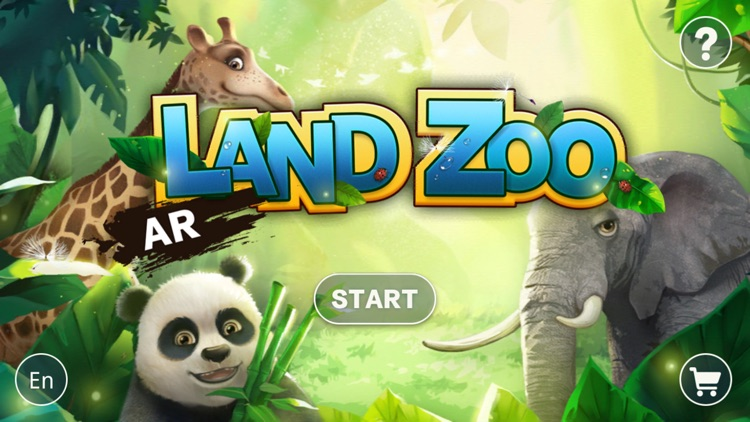 AR Land Zoo - Build & Feed screenshot-0