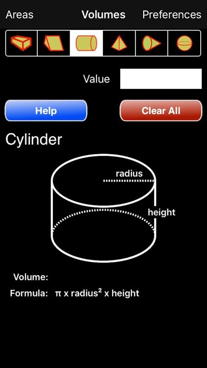 Volumes Calculator screenshot-4