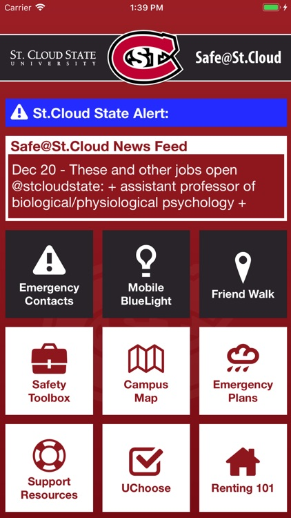 St Cloud Campus Map.Safe St Cloud By Minnesota State Colleges And Universities