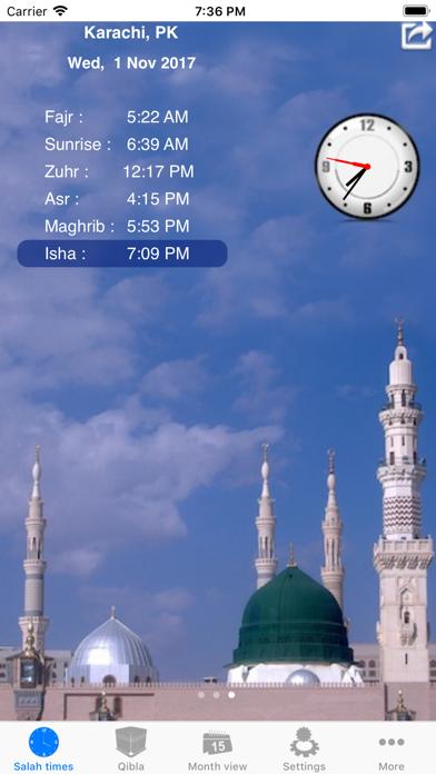 Salah Clock, Prayer & Qiblaのおすすめ画像4