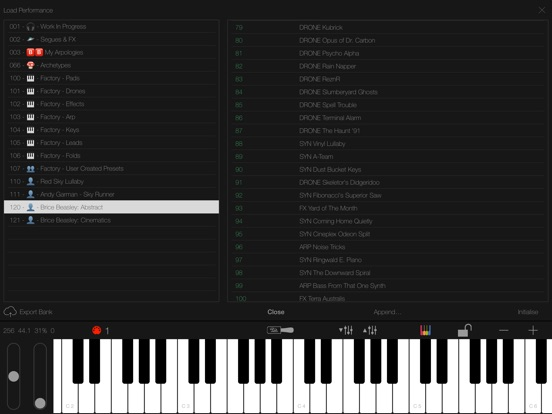 Screenshot #5 for LayR-Multi Timbral Synthesizer