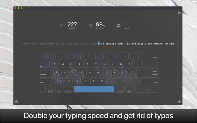 KeyKey — Typing Training Screenshot