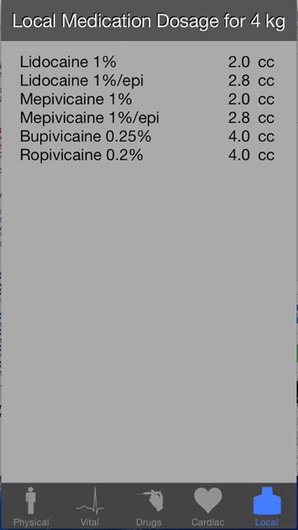 Pediatric Gas for Anesthesia screenshot-3