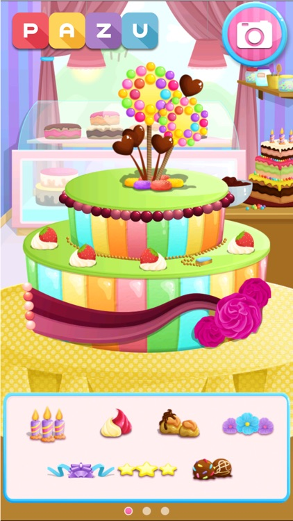 Cake Maker Cooking Games By Pazu Games Ltd