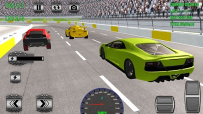 Superheroes Car Racing Sim Pro Screenshot 3