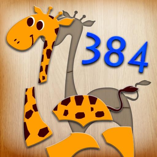 384 головоломок для детей
