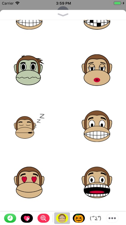 Monkey Emoji Stickers screenshot-3