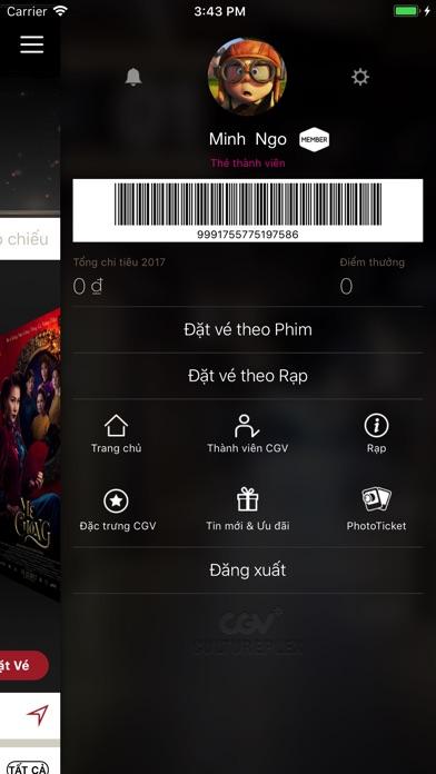 Screenshot for CGV Cinemas in Viet Nam App Store