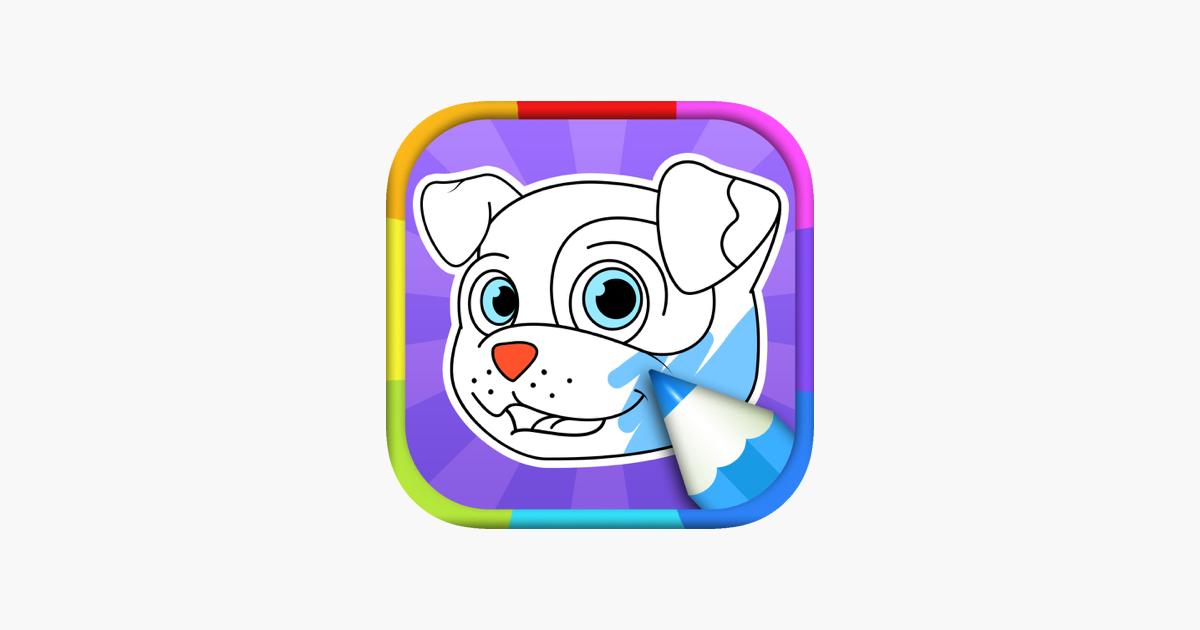 Koira Värityskuvia App Storessa