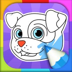 Kleurplaten Honden Duitse Herder.Kleurplaat Hond In De App Store