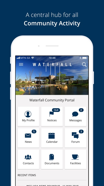 Waterfall Community Portal
