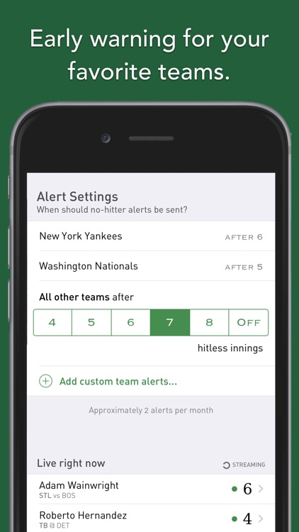 No-Hitter Alerts screenshot-2