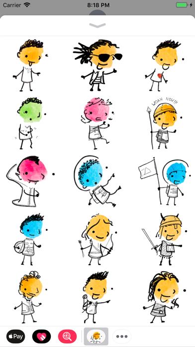 Inky Stickers screenshot two