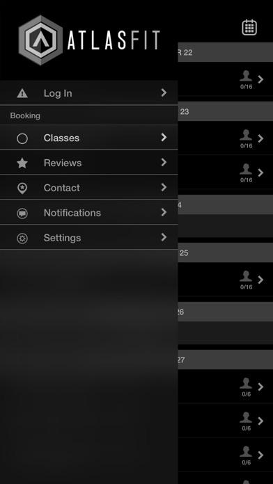 ATLAS FIT screenshot