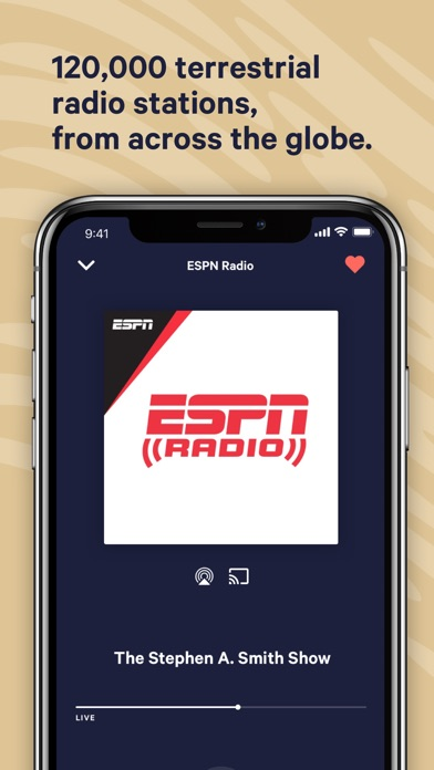 TuneIn: NFL, Radio & Podcasts for Windows