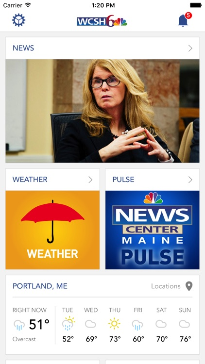 WCSH 6 Portland, Maine News screenshot-0
