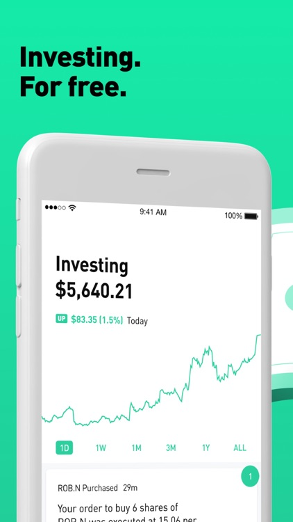 Robinhood: Invest. Buy. Trade.