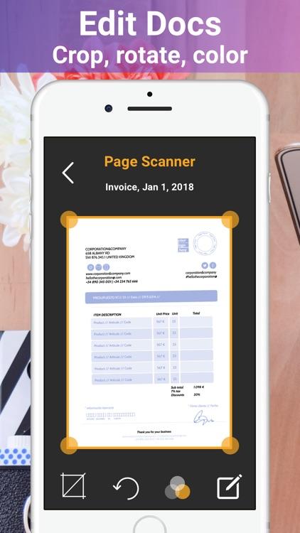 Page Scanner - Scan PDF Docs screenshot-3