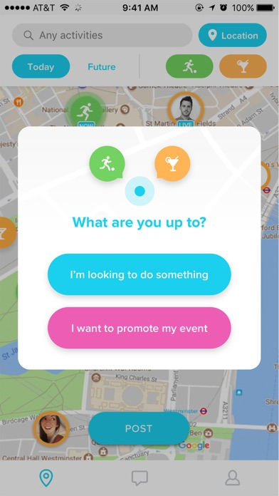 WHERE: Sporty & Social events screenshot two