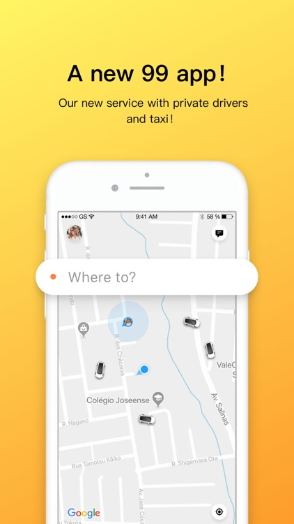 99 - Private drivers and Taxi screenshot-0