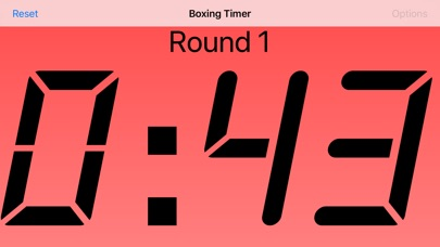 Boxing Timer review screenshots