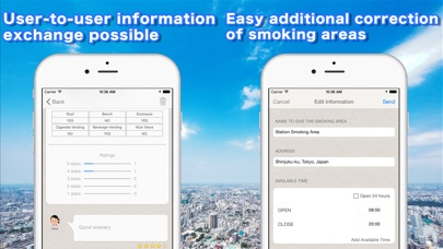 download Smoking area information Map apps 3