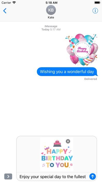 Happy Birthday - Animated screenshot 5