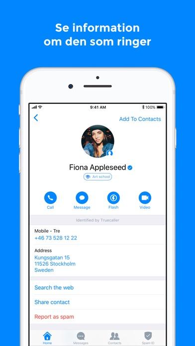Screenshot for Truecaller in Sweden App Store