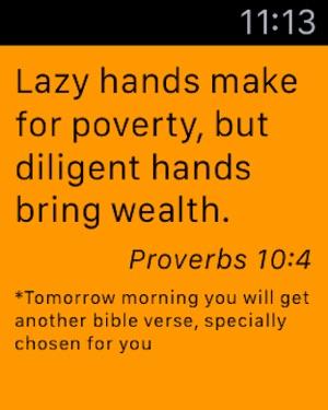 LastWoods : câu Kinh Thánh