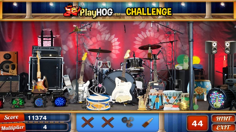 On Stage Hidden Objects Games