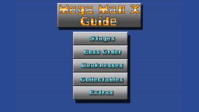Gimo Guide For Mega Man Xのおすすめ画像1