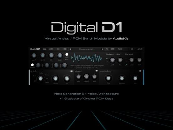 AudioKit Digital D1 Synth screenshot #1