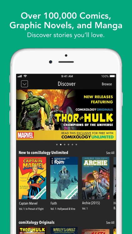 comiXology - Comics & Manga