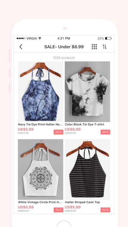 Romwe shopping- Fashion Clothing for women screenshot-3