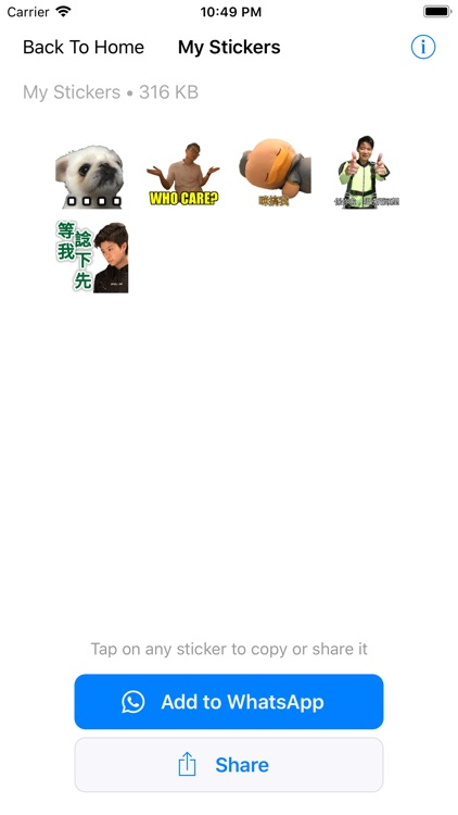 MyStickers screenshot-3