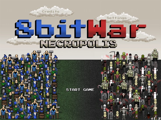 Screenshot #1 for 8bitWar: Necropolis