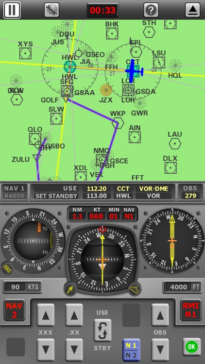 Radio Navigation Simulator IFR screenshot-4