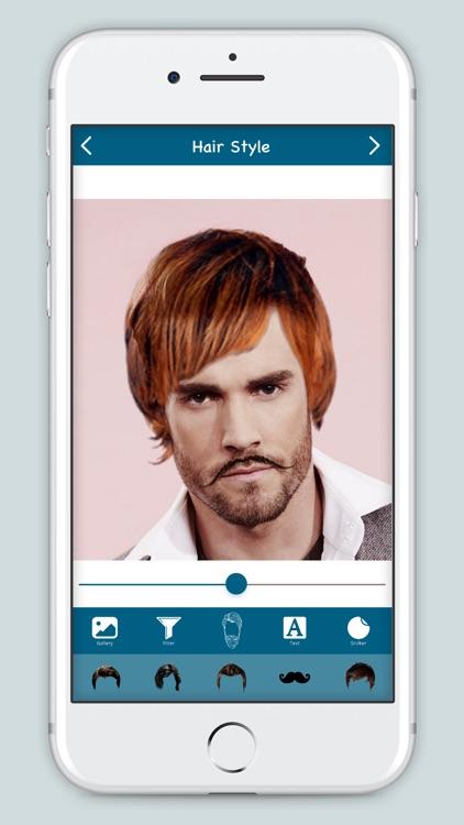 Men Hair Style : Hair Salon screenshot-4