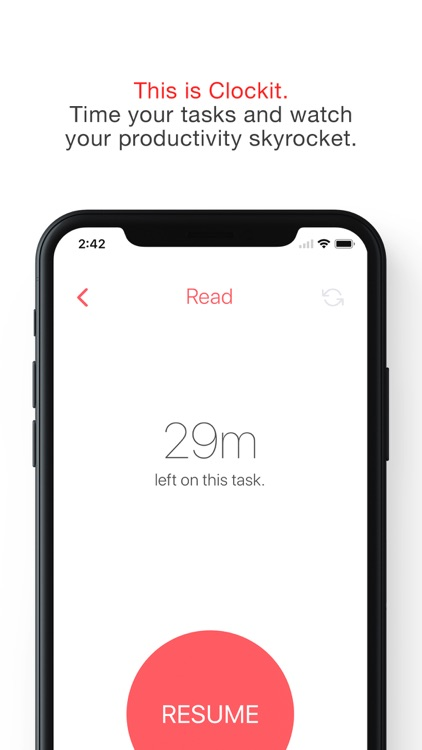 Clockit: A Productivity Timer