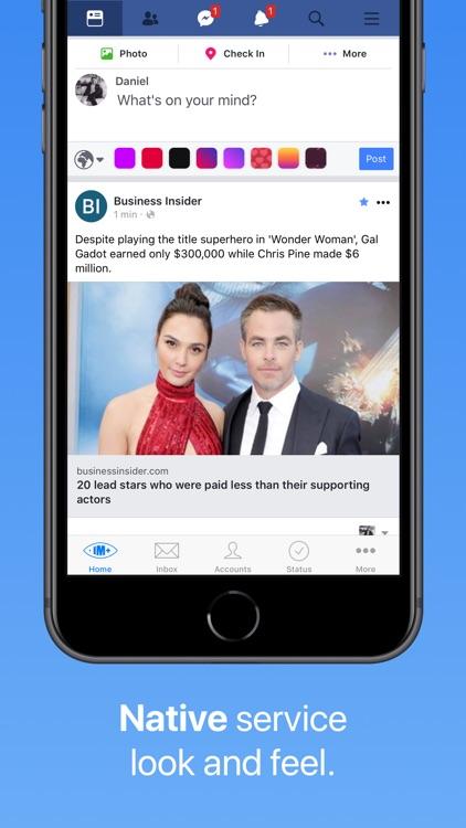 IM+ Pro Social Aggregator screenshot-3