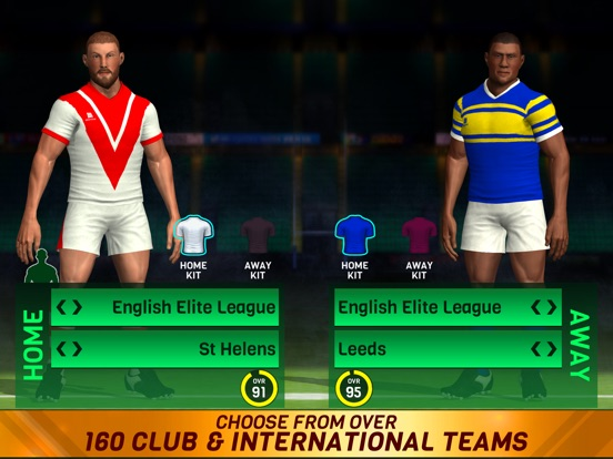 Rugby League 18 для iPad
